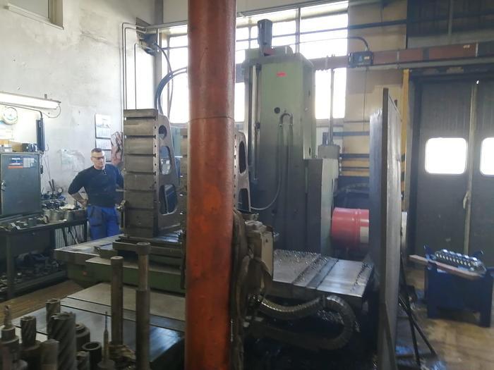Used Wytaczarka TOS VARNSDORF WH 10 CNC