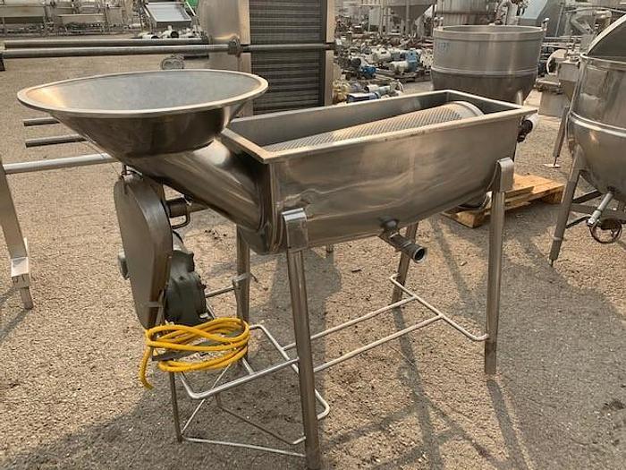 Used Stainless Steel Fine Saver- Separator