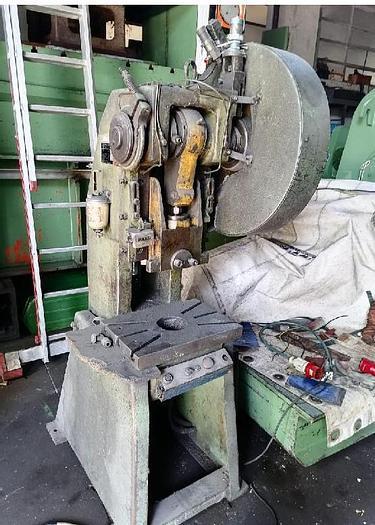 Usato pressa a chiavetta san giacomo 15 ton