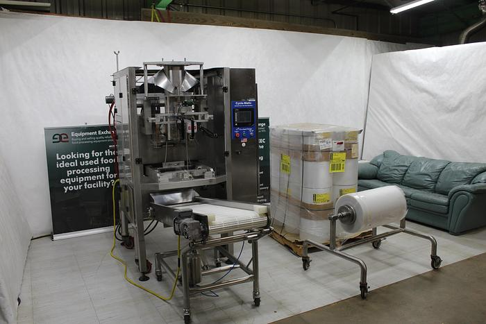 Used Cleveland Range Vertical Form-Fill and Seal Bagger; Md#Cycle-Matic AFF-1150
