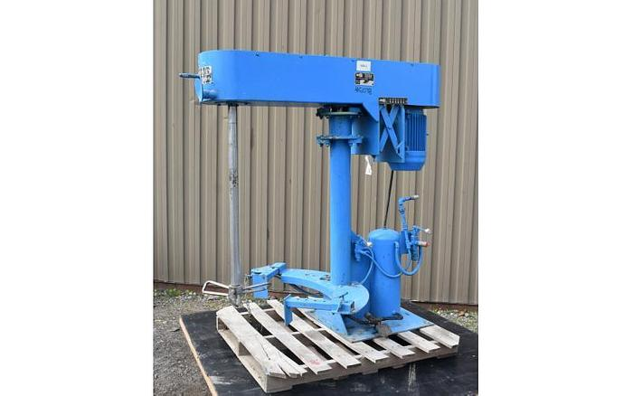 USED SCHOLD DISPERSER, 10 HP, VARIABLE SPEED