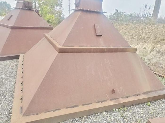 Used 6 Heavy Duty Aggregate Hoppers