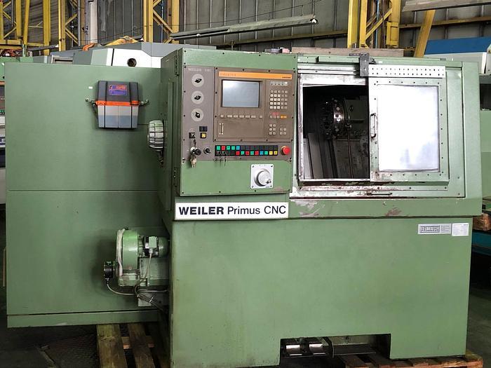 1990 CNC Drehmaschine WEILER PRIMUS 1 CNC
