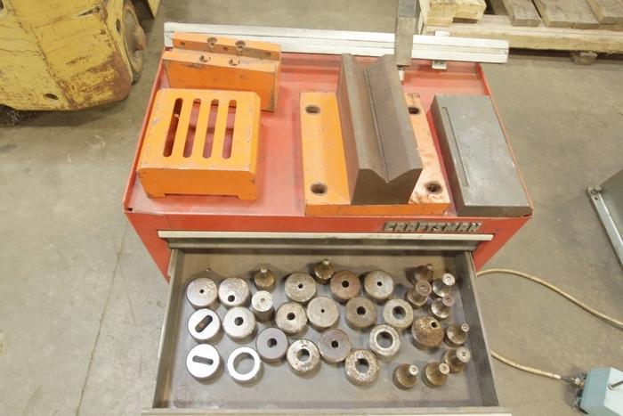 Marvel Spartan 66 Ton Ironworker Press Brake Attachment Tooling  IDW 66D