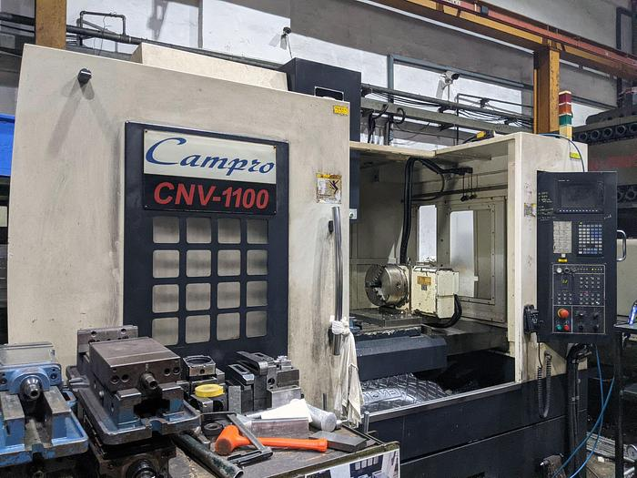 Used USED CAMPRO CNV-1100 Vertical Machine Center