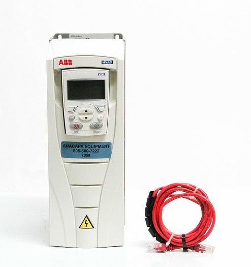 Used ABB Inc. ACH550-UH-08A8-4 HVAC Drive w/ ACH-CP-B Control Panel USED (7058) R