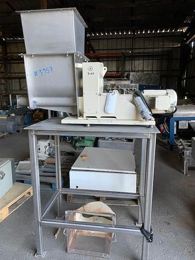 Used Stainless Steel Dual Screw Extruder