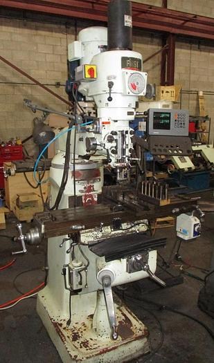 "9"" X 42"", FIRST, LC 1 1/2 VS, VERTICAL MILLING MACHINE"
