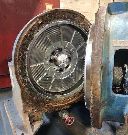 "Used Beloit 24""  DD 4000 Refiner  24 "" discs"