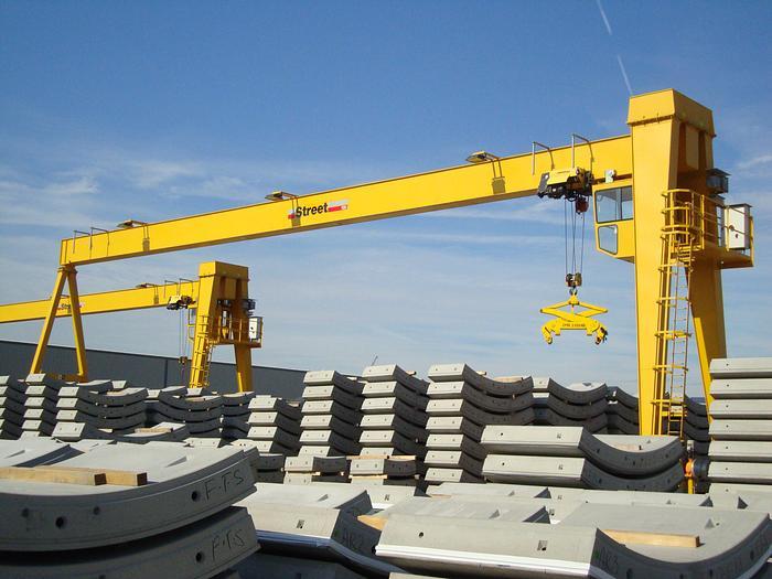 Used GH 40t SWL Portal Crane