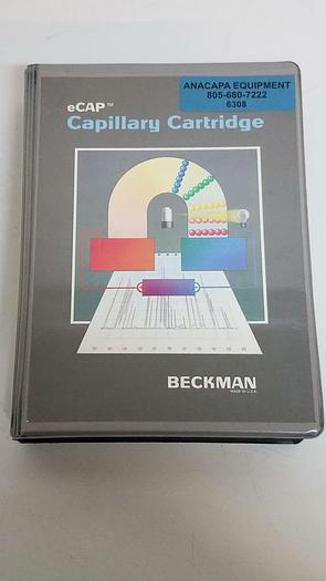 Used Beckman P/ACE System eCap Capillary Cartridge with 100 X 200 UM Aperture (6308)