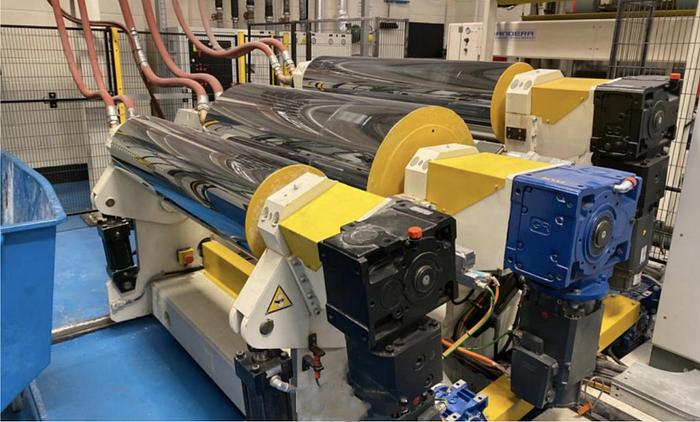 2017 Bandera PET Extrusion Line