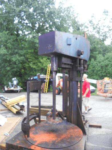 Used 60 HP JAYGO HIGH SPEED DISPERSER WITH TURN TABLE – #7637