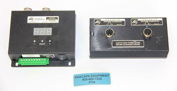 Used Advanced Illumination CS420 Constant Current Source, CS300-IC LED Light (8704)W
