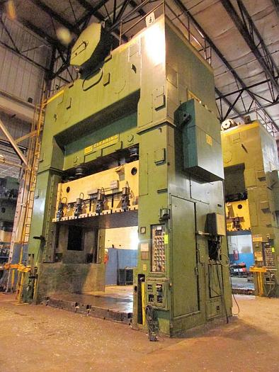 "500 ton USI Clearing 144""x84"" SSDC Press"