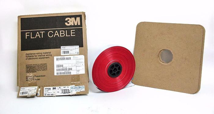"Used 3M™ Round Conductor Flat Cable 3754/68 Conductor .025""  MB68G-300-ND (4115)"