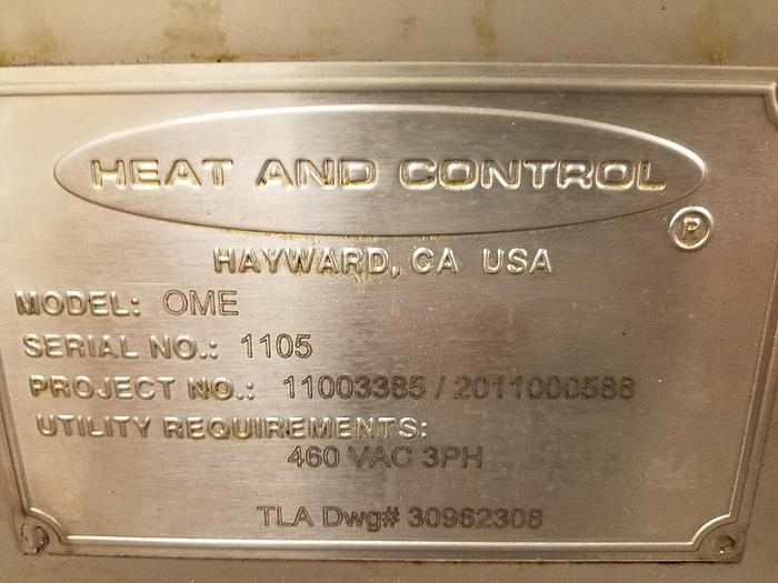 2010 HEAT & CONTROL TORTILLA CHIP LINE