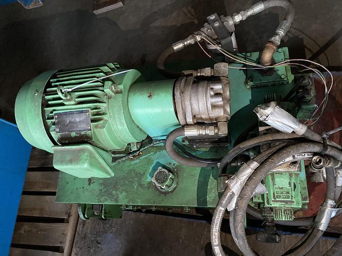 Used 5 HP Hydraulic Pump & tank