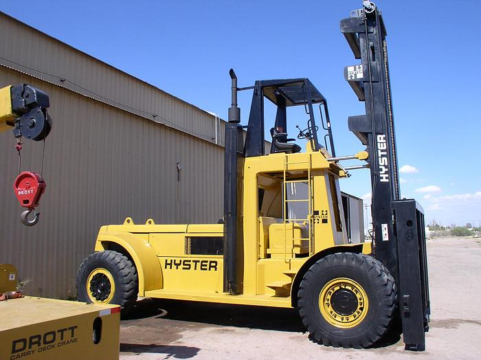 Used 62,000 lb. Hyster Model H620B Forklift