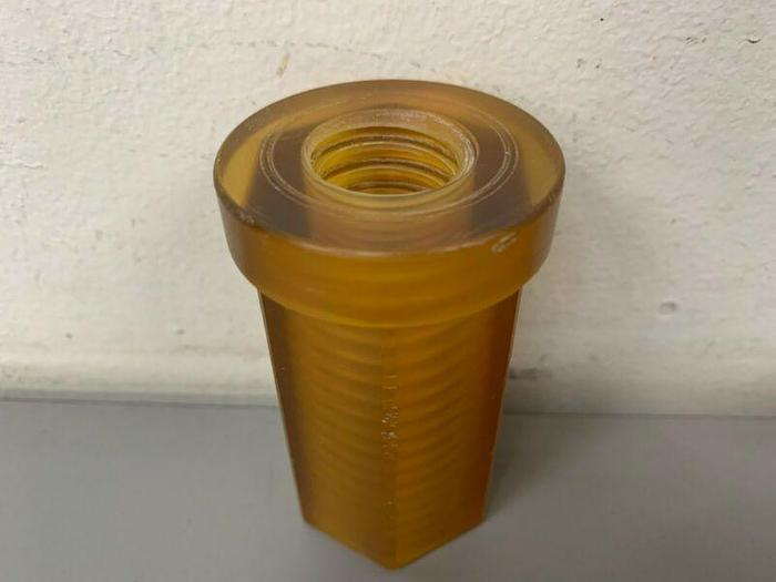 """Used Cuno 3"""" x 1.5"""" Threaded Filter House Caps"""