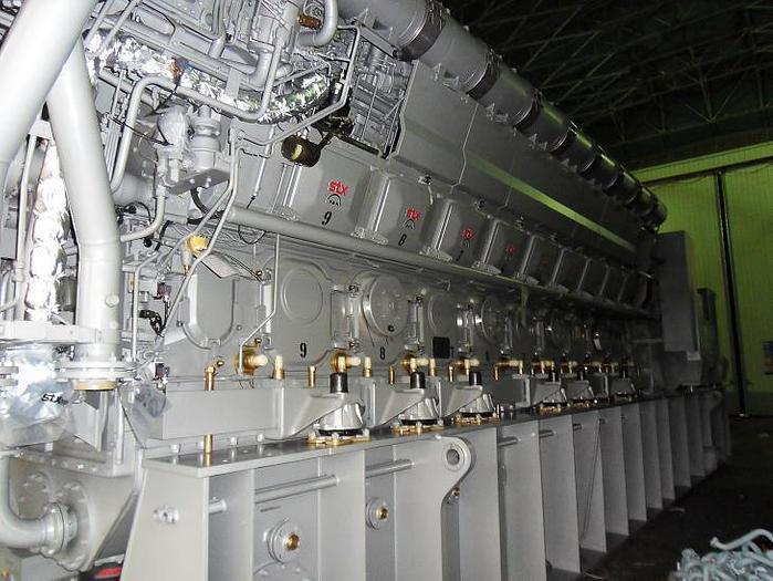 8.7 MW 2011 New MAN 18V32/40 HFO Generator Sets