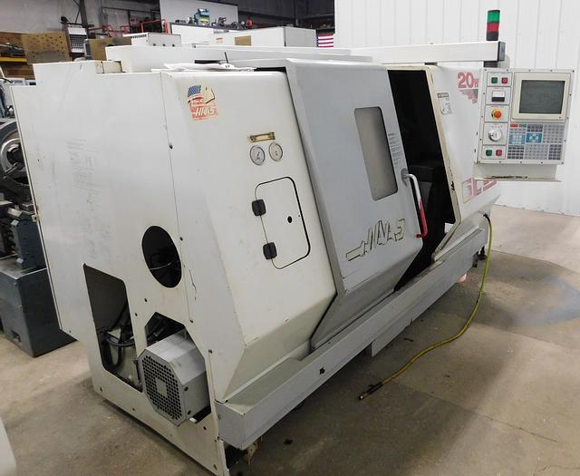 Used Haas CNC Slant Bed Turning Center SL20-T