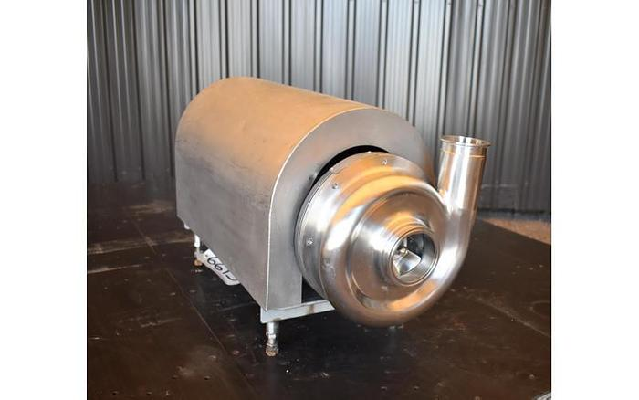 "Used USED AMPCO CENTRIFUGAL PUMP, 3"" X 2.5"", STAINLESS STEEL, SANITARY"