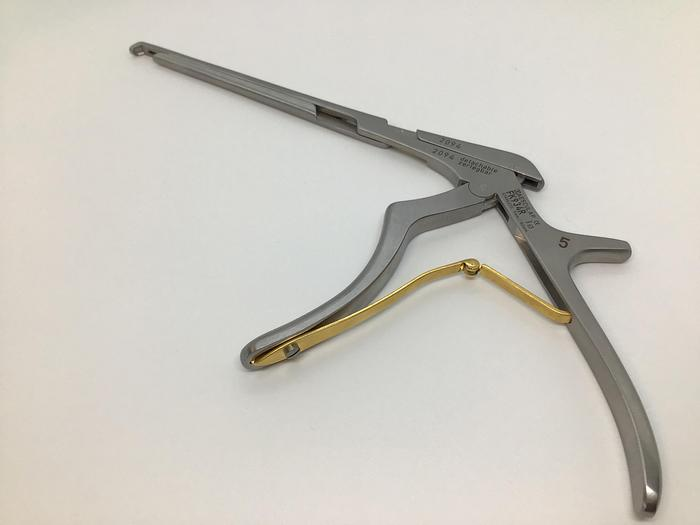 Used Punch Bone Kerrison Down Cutting 130 Degree 5mm Bite 180mm