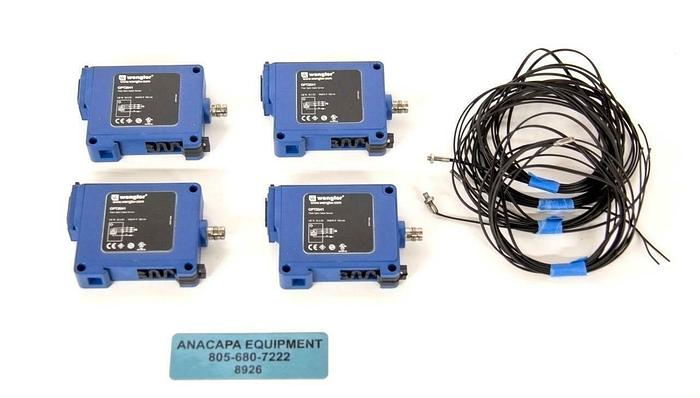 Used Wenglor OPT2041 Fiber Optic OPT Analyzer w/ K10 Cable USED LOT OF 4 (8926)R
