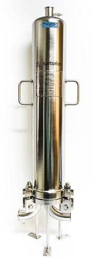 Used Sartorius 22-60730-050-2 SS Filter Housing & Parker PolyFlow Filter (5749)