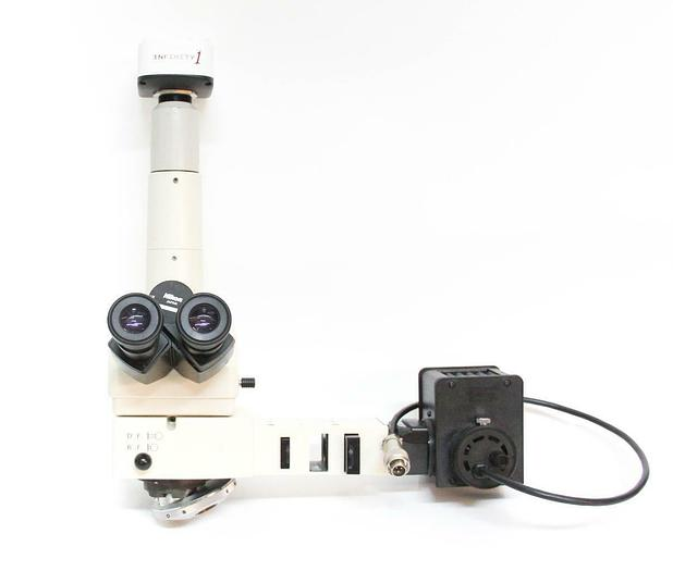 Used Nikon MM-40 Measuring Microscope Infinity 1 CCD Epi-Illuminator LHS-H50C-1 (5450