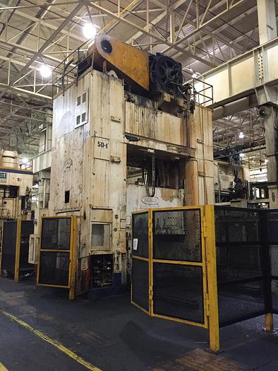 "1200 ton Danly 108""x60"" SSDC Stamping Press"