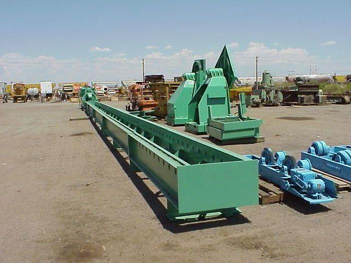 "Used 100 Ton Loewy Extrusion Stretcher; 110' Max. Length; 72"" Str.; Detwist; Oilgear"