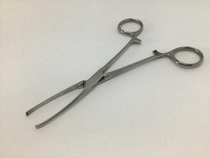 Used Forceps Intestinal Grasping Allis 3 in 4 Teeth 145mm