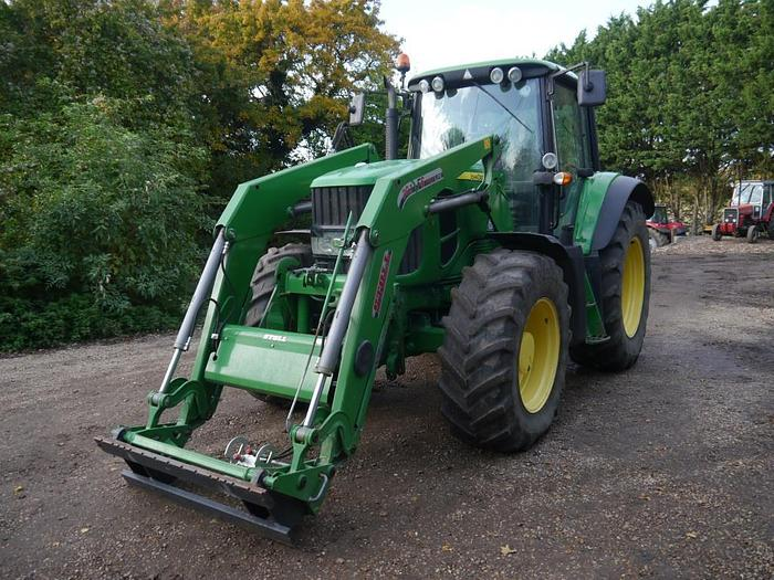 Used John Deere 6830 Premium 4wd Tractor