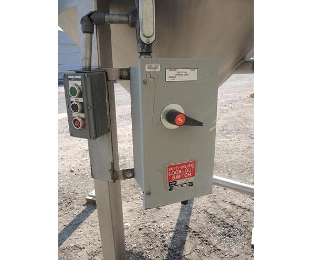 USED SCHNEIBLE COMPANY ''MULTI-WASH SCRUBBER'', STAINLESS STEEL, SANITARY