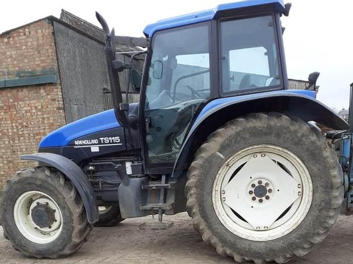 Used New Holland TS115 4wd Tractor