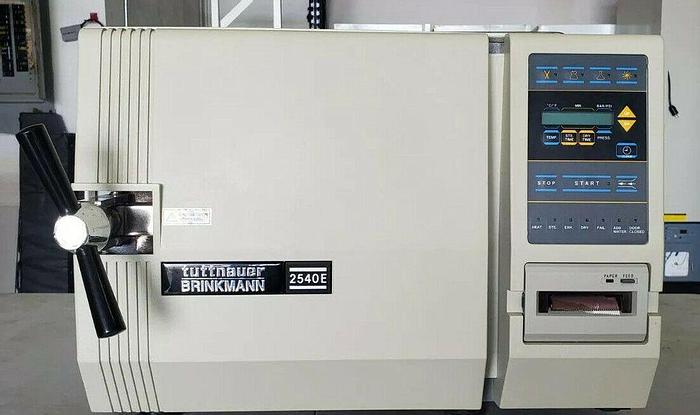Used Tuttnauer Brinkmann 2540e, Autoclave Steam Sterilizer