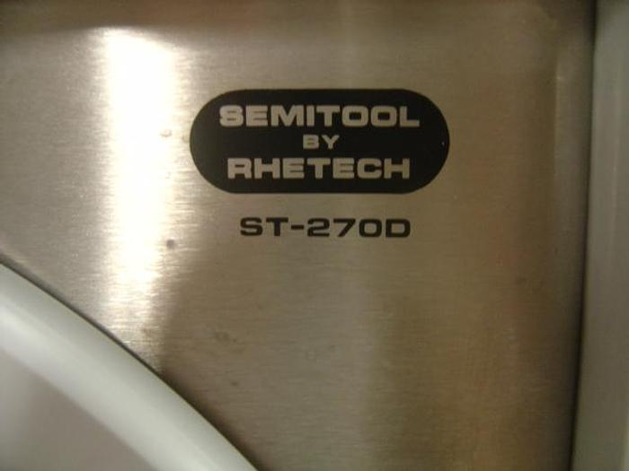Used Semitool  ST-270D Spin RInser/Dryer