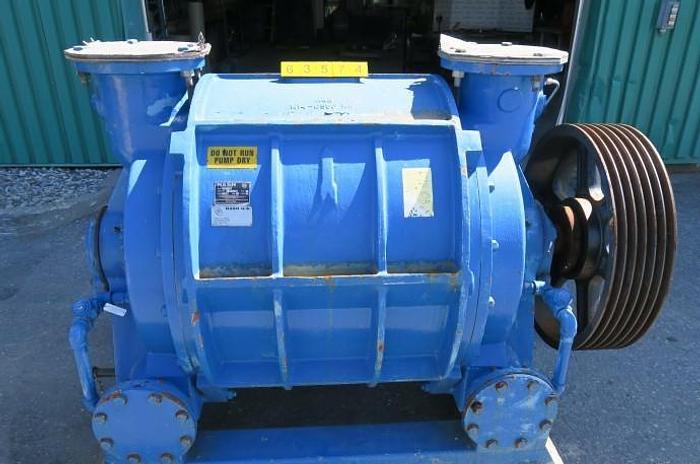 Used NASH CL3003 VACUUM PUMP C/I