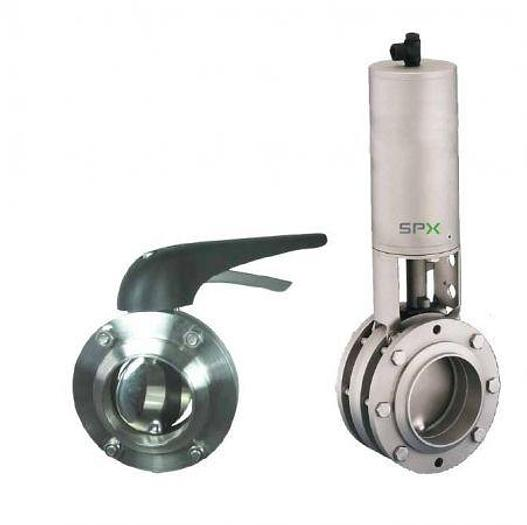 Used APV Butterfly Valves