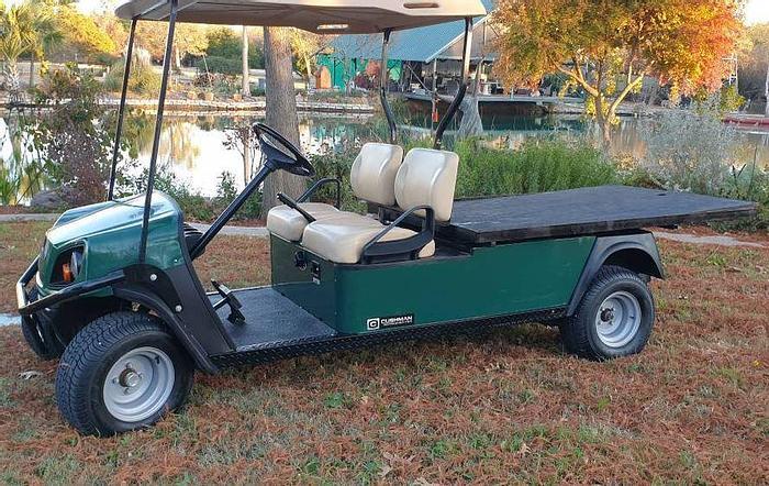 Used 2016 Cushman Flatbed Cart FS4