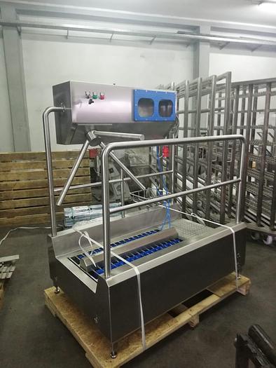 Niro-Tech SHM2 walk-through hygiene station