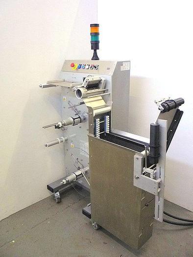 Used M 10568 E - Label Reel Splicing System HARLAND GEMINI