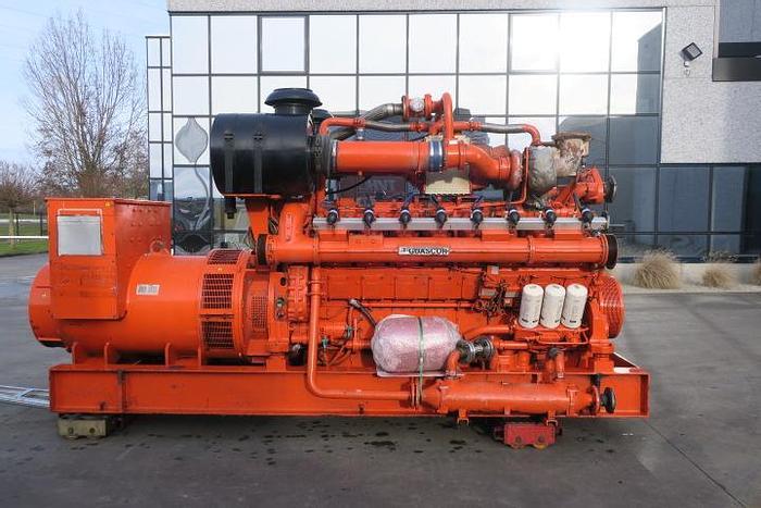 Used 2008 Guascor SFGLD560 - 952 KWe