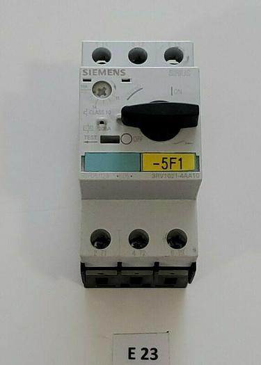 Used *PREOWNED* Siemens 3RV1021-4AA10 208A 3P Motor Starter + Warranty!