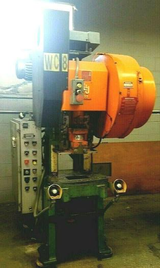 Used L & J Press 25 Ton Punch Press with Variable Speed and Press Monitor Control