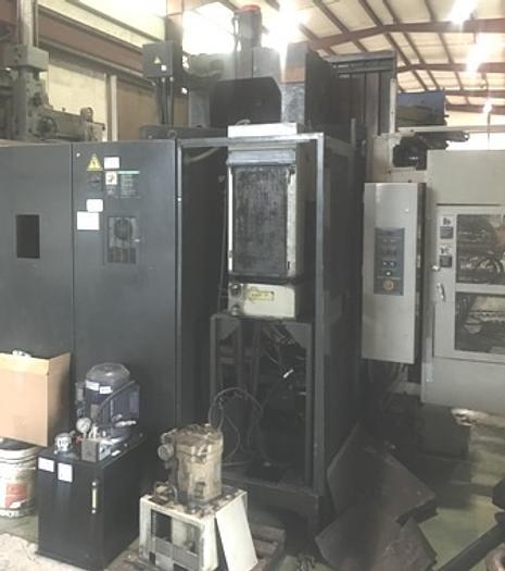 "2000 Hitachi- Seiki 24.8"" HS 630 HMC |  24.8"" Twin Pallet, Cat 40, Fanuc CNC"