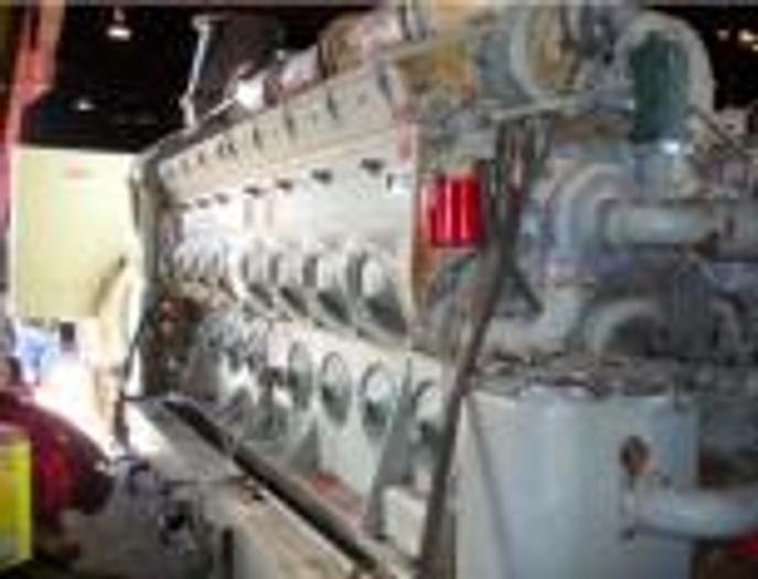 3.950 MW 2009 Used EMD L20-710-G7C-T2 Diesel Generators