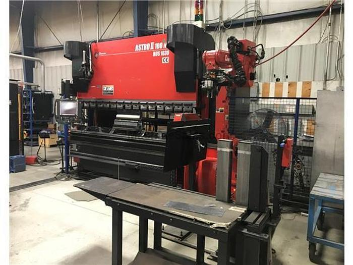 2009 110 Ton Amada Astro II 100NT HDS-1030 CNC Press Brake